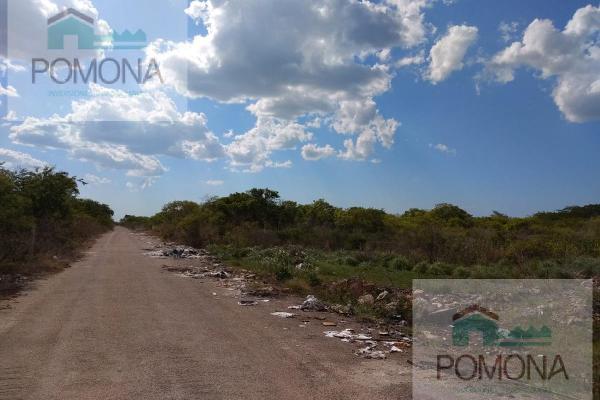 Foto de terreno habitacional en venta en  , cholul, mérida, yucatán, 7160727 No. 02