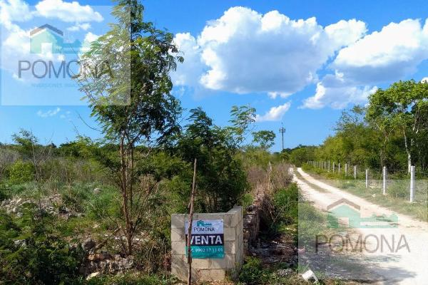 Foto de terreno habitacional en venta en  , cholul, mérida, yucatán, 7160727 No. 03