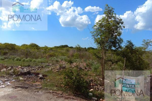 Foto de terreno habitacional en venta en  , cholul, mérida, yucatán, 7160727 No. 04