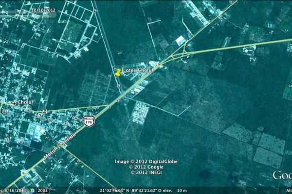 Foto de terreno comercial en venta en  , cholul, mérida, yucatán, 7856512 No. 02