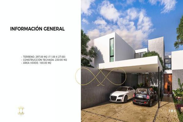 Foto de casa en venta en  , cholul, mérida, yucatán, 7860357 No. 01