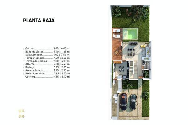 Foto de casa en venta en  , cholul, mérida, yucatán, 7860357 No. 03