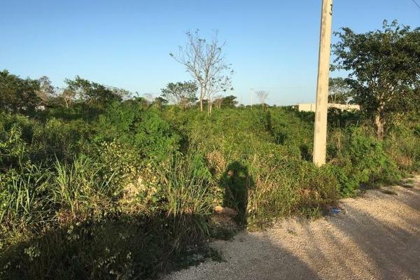Foto de terreno habitacional en venta en  , cholul, mérida, yucatán, 7860721 No. 02