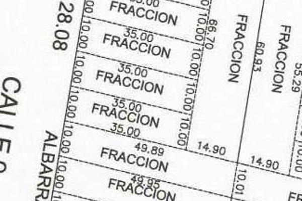 Foto de terreno habitacional en venta en  , cholul, mérida, yucatán, 7860721 No. 03