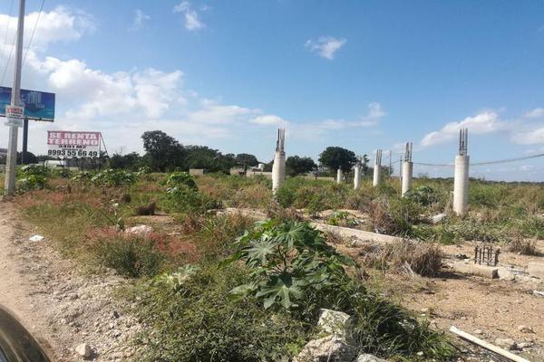 Foto de terreno habitacional en renta en  , cholul, mérida, yucatán, 7860845 No. 01