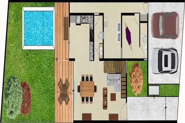 Foto de casa en venta en  , cholul, mérida, yucatán, 7860925 No. 03