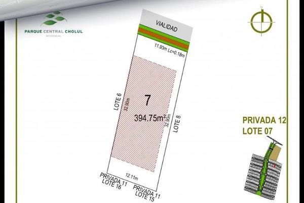 Foto de terreno habitacional en venta en  , cholul, mérida, yucatán, 7861225 No. 02