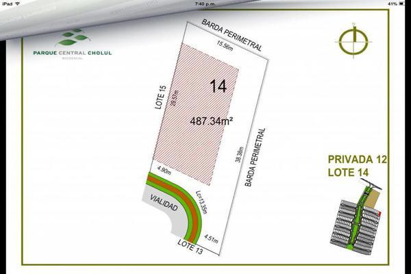Foto de terreno habitacional en venta en  , cholul, mérida, yucatán, 7861225 No. 03