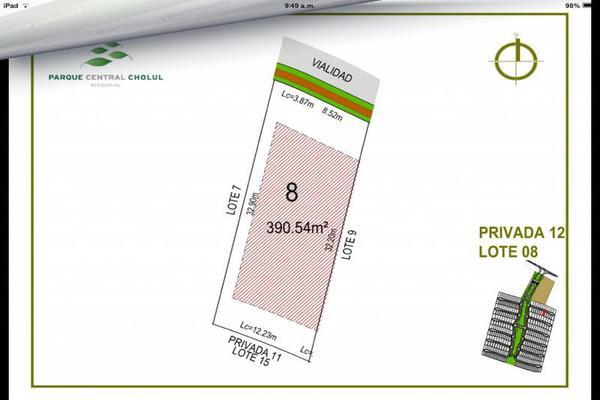 Foto de terreno habitacional en venta en  , cholul, mérida, yucatán, 7861225 No. 04
