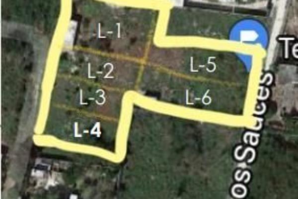 Foto de terreno habitacional en venta en  , cholul, mérida, yucatán, 8113815 No. 01