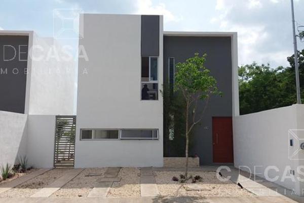 Foto de casa en venta en  , cholul, mérida, yucatán, 8286181 No. 01