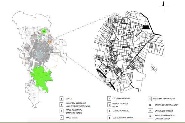 Foto de terreno habitacional en venta en  , cholul, mérida, yucatán, 8423580 No. 02