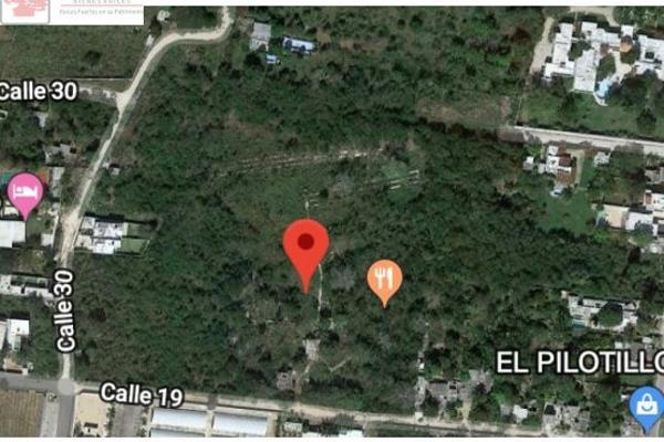 Foto de terreno habitacional en venta en  , cholul, mérida, yucatán, 8868894 No. 01