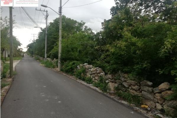 Foto de terreno habitacional en venta en  , cholul, mérida, yucatán, 8868894 No. 04