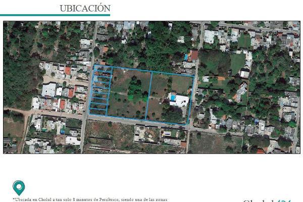 Foto de terreno habitacional en venta en  , cholul, mérida, yucatán, 9931692 No. 02