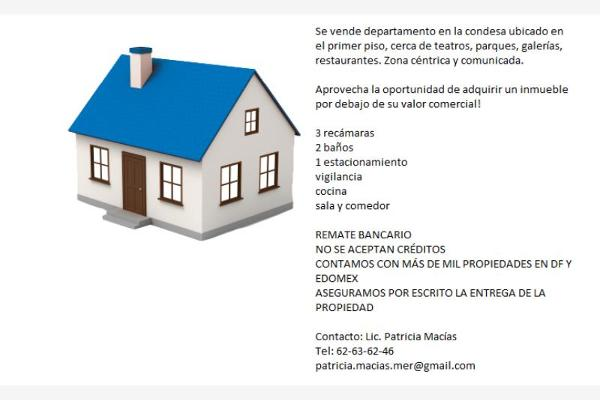 Foto de departamento en venta en cholula 51, hipódromo, cuauhtémoc, distrito federal, 2684390 No. 02
