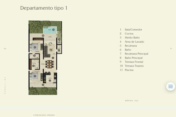 Foto de departamento en venta en  , chuburna de hidalgo iii, mérida, yucatán, 14026563 No. 05