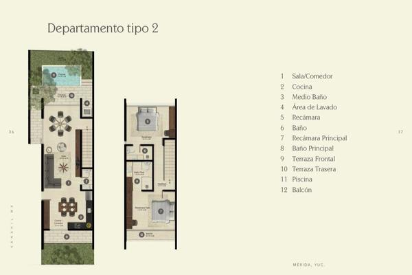 Foto de departamento en venta en  , chuburna de hidalgo iii, mérida, yucatán, 14026563 No. 08