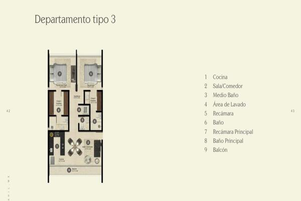 Foto de departamento en venta en  , chuburna de hidalgo iii, mérida, yucatán, 14026563 No. 11