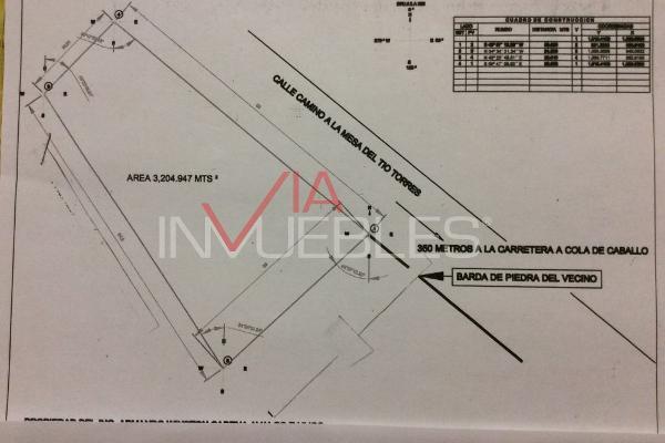 Foto de terreno industrial en venta en 00 00, cieneguilla, santiago, nuevo león, 7095962 No. 01