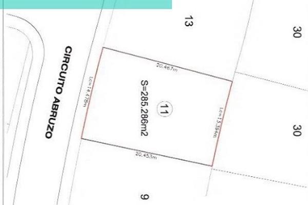 Foto de terreno habitacional en venta en circuito abruzo 11, lomas de angelópolis ii, san andrés cholula, puebla, 3421749 No. 01