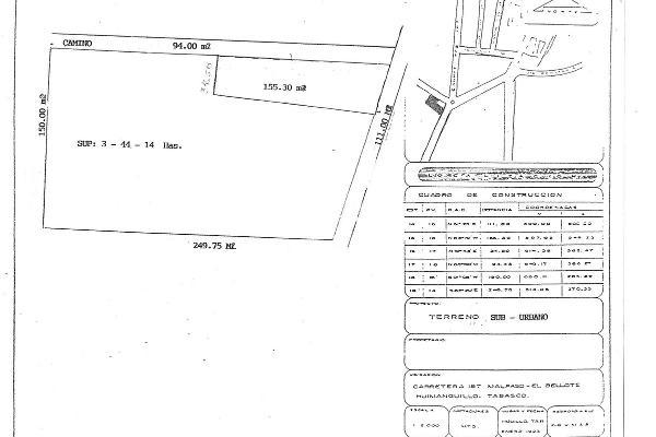 Foto de terreno comercial en venta en circuito anillo periferico , huimanguillo centro, huimanguillo, tabasco, 5339418 No. 01