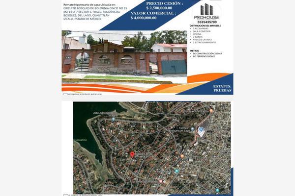 Foto de casa en venta en circuito bosques bolognia 15, bosques del lago, cuautitlán izcalli, méxico, 16931047 No. 01