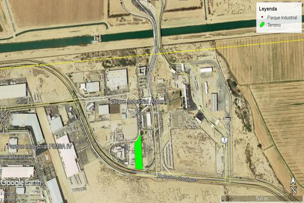 Foto de terreno industrial en venta en circuito brasil , residencial argentina, mexicali, baja california, 7491408 No. 04