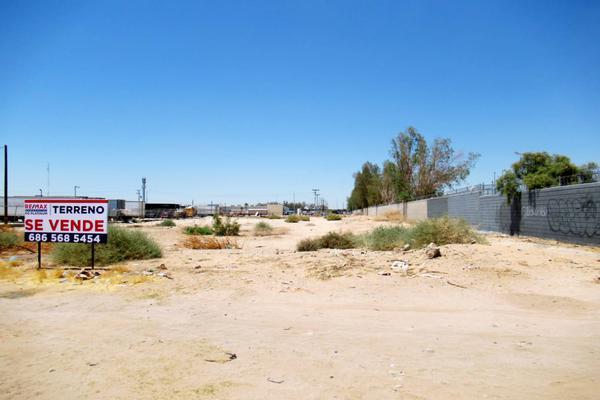 Foto de terreno industrial en venta en circuito brasil , residencial argentina, mexicali, baja california, 7491408 No. 08