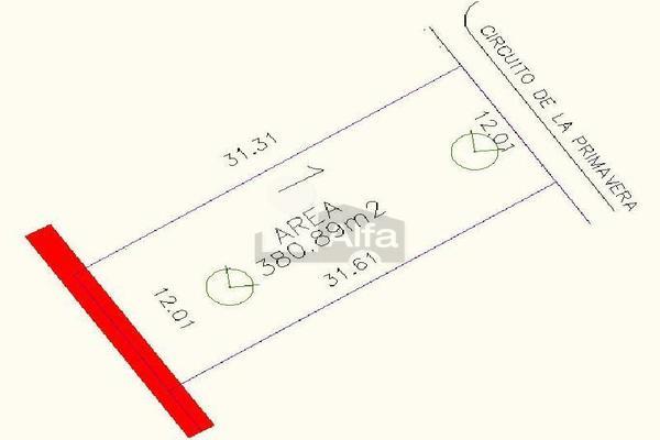 Foto de terreno habitacional en venta en circuito de la primavera , real del nogalar, torreón, coahuila de zaragoza, 15019508 No. 04