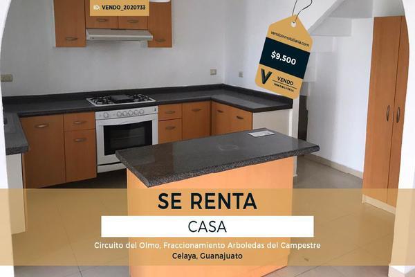 Foto de casa en renta en circuito del olmo , arboledas del campestre, celaya, guanajuato, 15644919 No. 01