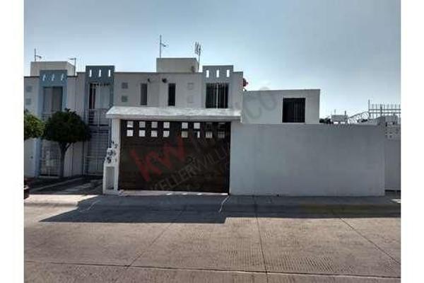 Foto de casa en venta en circuito del sol , colinas del sol, corregidora, querétaro, 5949101 No. 01