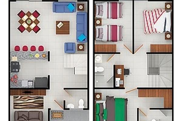 Foto de casa en venta en circuito monarca , tecnológico de monterrey, celaya, guanajuato, 6136881 No. 02