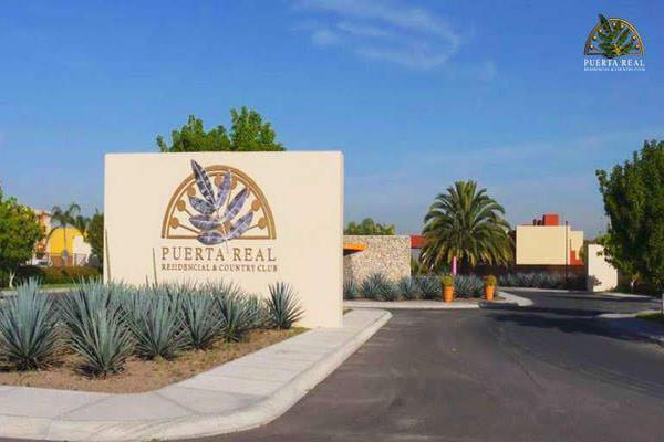 Foto de terreno habitacional en venta en circuito puerta del sol , puerta real, corregidora, querétaro, 14023547 No. 01