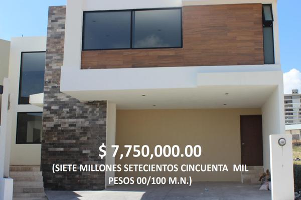 Foto de casa en venta en circuito punta arena (punta san luis) , lomas del tecnológico, san luis potosí, san luis potosí, 5634244 No. 01