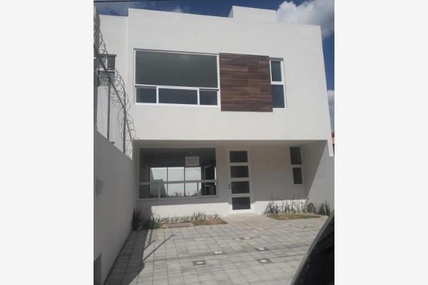 Foto de casa en venta en circuito san joaquin 12, villas san diego, san pedro cholula, puebla, 9264325 No. 01