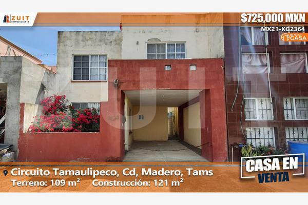 Foto de casa en venta en circuito tamaulipeco 934, miramapolis, ciudad madero, tamaulipas, 0 No. 01