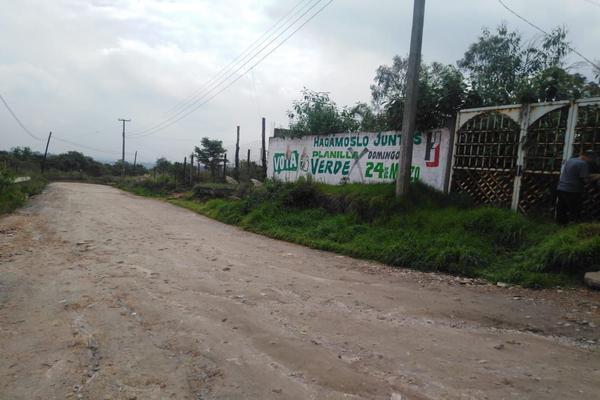Foto de terreno habitacional en venta en clarines s/n , loma del río, nicolás romero, méxico, 8323853 No. 01