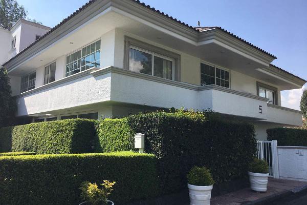 Foto de casa en renta en club de golf chapultepec - avenida del conscripto , lomas hipódromo, naucalpan de juárez, méxico, 5877702 No. 01