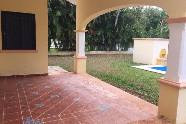 Foto de casa en renta en  , club de golf la ceiba, mérida, yucatán, 1570292 No. 06
