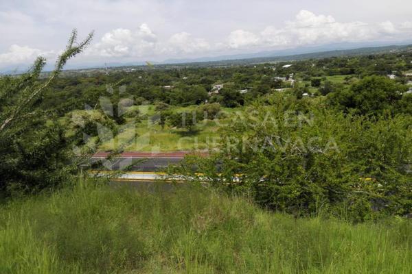Foto de terreno habitacional en venta en  , club de golf santa fe, xochitepec, morelos, 5697033 No. 09