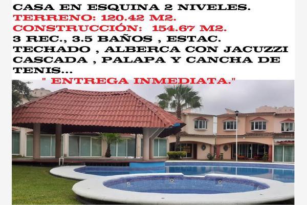Foto de casa en venta en cluster manzanos casa 23, los mangos, yautepec, morelos, 9923465 No. 01