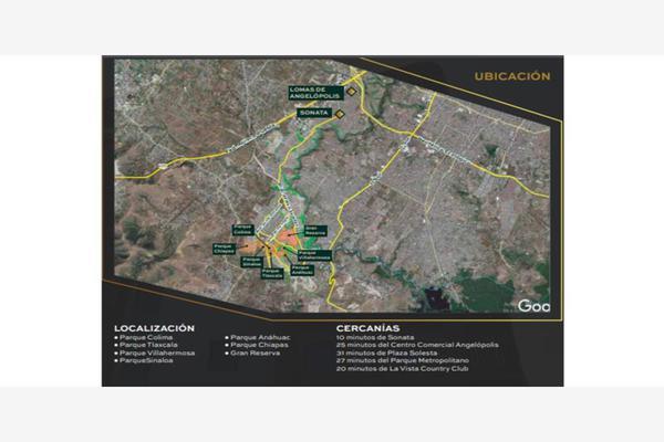 Foto de terreno habitacional en venta en cluster mazatlan 12, angelopolis, puebla, puebla, 10076969 No. 02