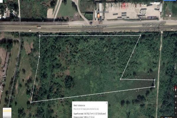 Foto de terreno habitacional en venta en coatzacoalcos - cardenas kilometro 119 s/n , rio seco 1a secc, cárdenas, tabasco, 8848790 No. 01