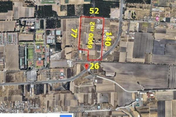 Foto de terreno habitacional en venta en codagem , metepec centro, metepec, hidalgo, 6201539 No. 04