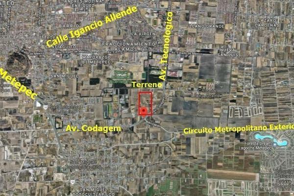 Foto de terreno habitacional en venta en codagem , metepec centro, metepec, hidalgo, 6201539 No. 05