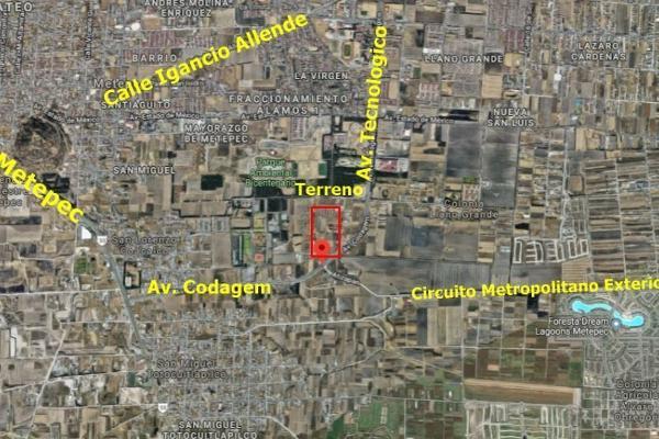 Foto de terreno habitacional en venta en codagem , metepec centro, metepec, hidalgo, 6201539 No. 01