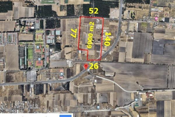 Foto de terreno habitacional en venta en codagem , metepec centro, metepec, hidalgo, 6201539 No. 02