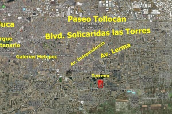 Foto de terreno habitacional en venta en codagem , metepec centro, metepec, hidalgo, 6201539 No. 03