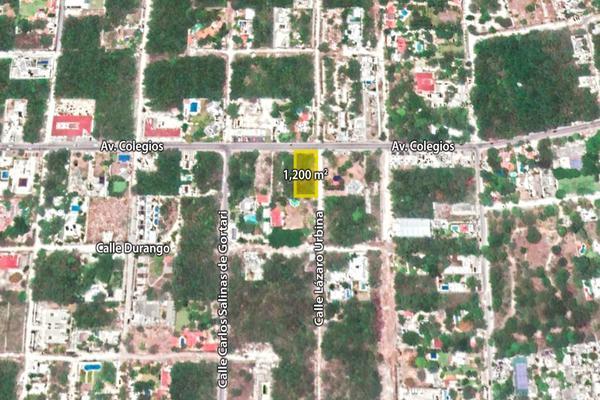 Foto de terreno habitacional en venta en  , colegios, benito juárez, quintana roo, 15372426 No. 01